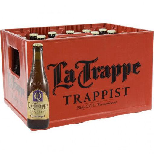 Afbeeldingen van La Trappe Quadrupel 24x33CL