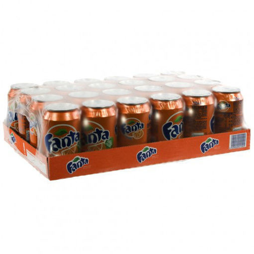 Picture of Fanta Orange 24x33CL