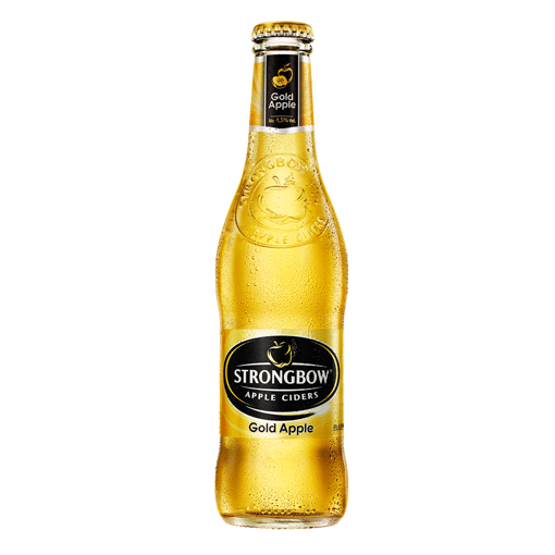 Afbeeldingen van Strongbow Gold Apple Cider 24x33CL