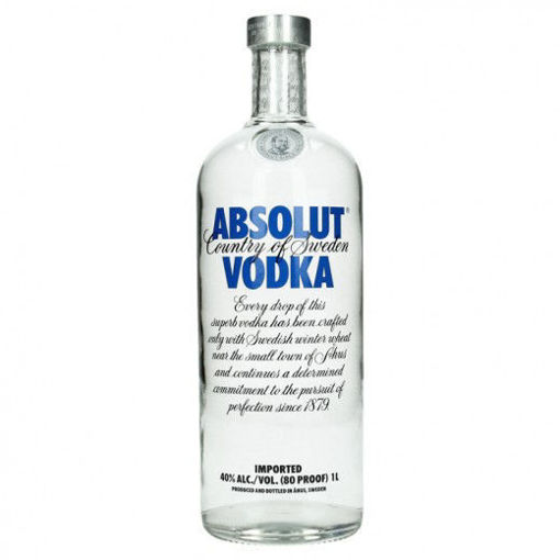 Picture of Absolut Vodka 40% 1 liter