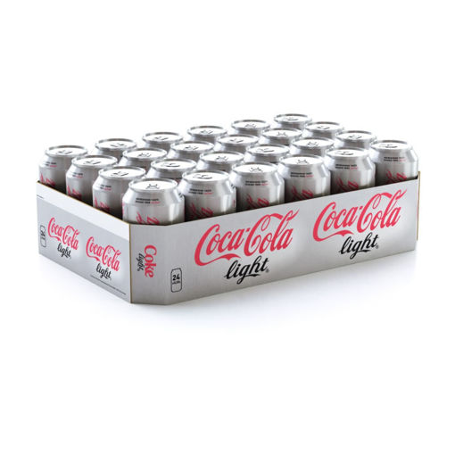 Picture of Coca Cola Light 24x33CL
