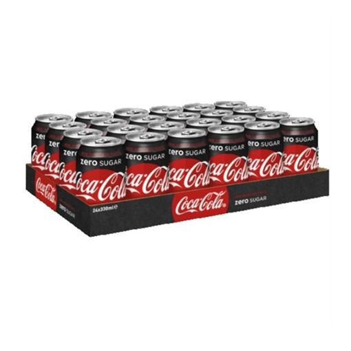 Afbeeldingen van Coca Cola Zero 24x33CL