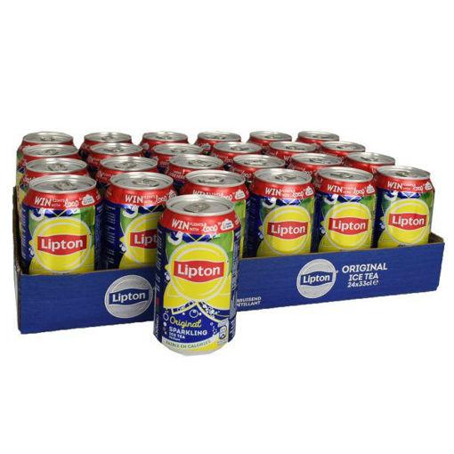 Picture of Lipton Ice Tea Original Regular 24x33CL