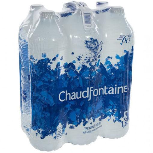 Afbeeldingen van Chaudfontaine Natuurlijk water 6x1,5L PET