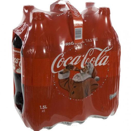 Afbeeldingen van Coca Cola 6x1,5L PET