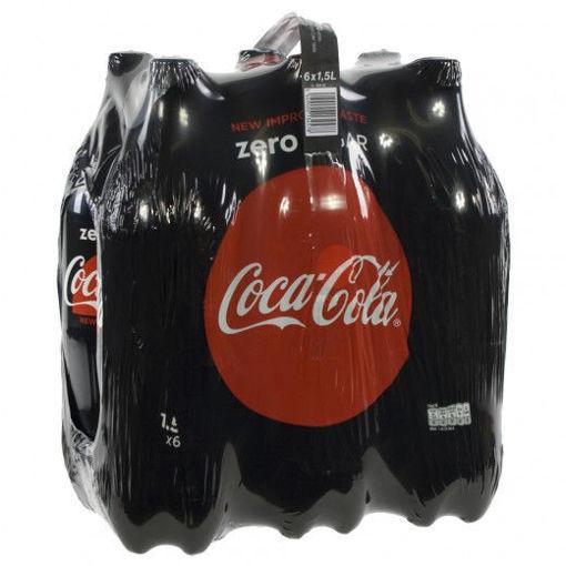 Afbeeldingen van Coca Cola Zero 6X1,5L PET