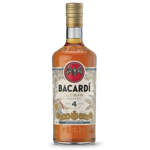 Afbeeldingen van Bacardi 4Y 1 liter