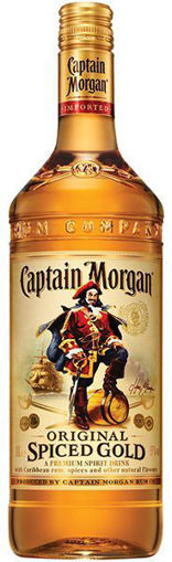 Afbeeldingen van Captain Morgan Spiced Gold 1 liter