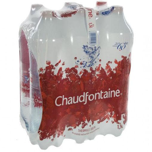 Afbeeldingen van Chaudfontaine Bruisend water 6x1.5L PET